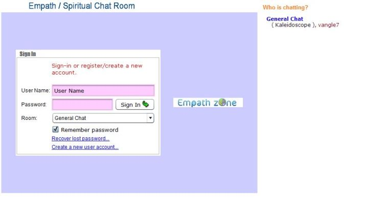 Empath Chatroom