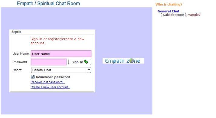 Empath Chatroom